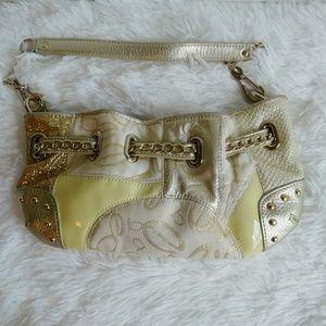 Bebe Mini Bag Totally Blinged Out
